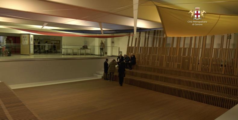 immagine dell'auditorium agorà