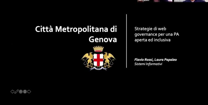 slide introduttiva della presentazione