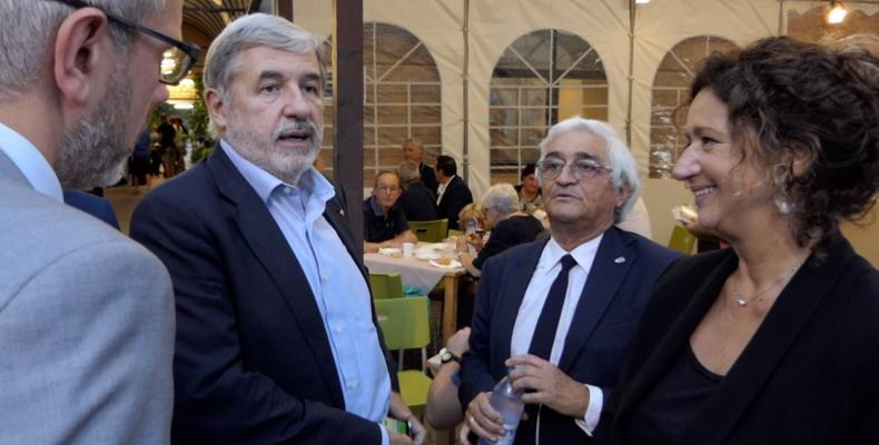 Il sindaco Metropolitano Marco Bucci alla inaugurazione