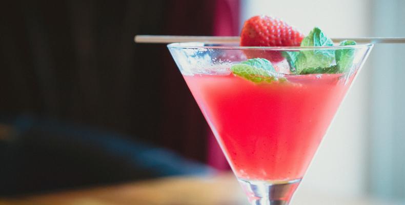bicchiere con cocktail