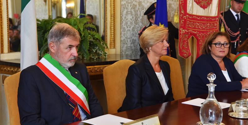 News: Genova, medaglia della liberazione a 14 partigiani dal ministro pinotti con le istituzioni