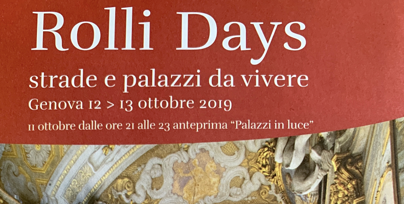 Locandina Rolli Days 2019