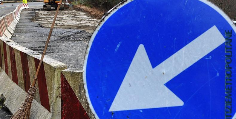 News: Savignone, senso unico alternato fino a venerdì sulla sp. 226 della valle scrivia