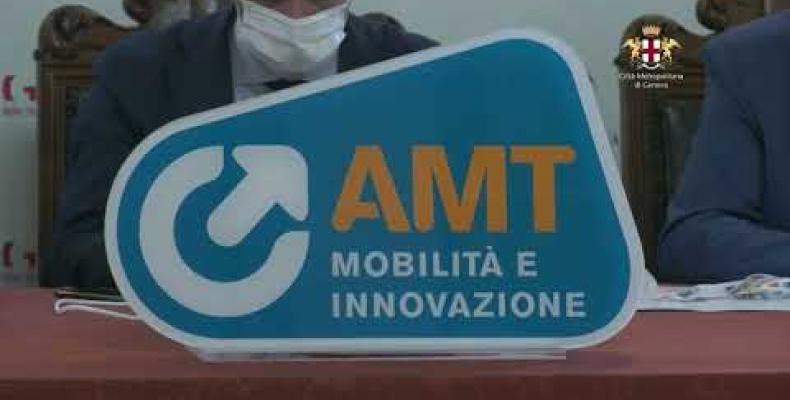 Presentazione del nuovo logo AMT
