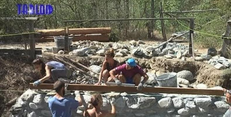 Ricostruzione di un ponte per la Badia di Tiglieto da parte degli studenti di Architettura di Genova