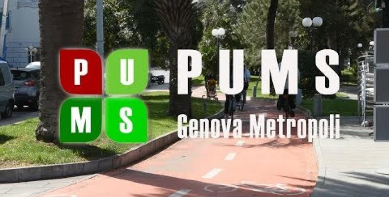 Presentazione del PUMS di GenovaMetropoli