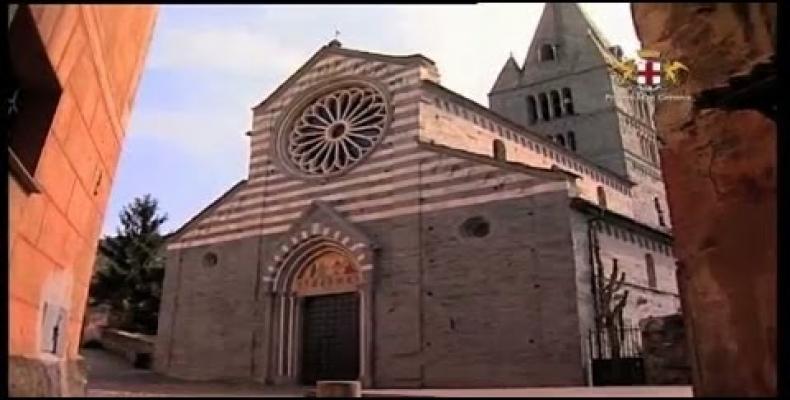 Uno dei più importanti e meglio conservati monumenti romanico gotico della Liguria