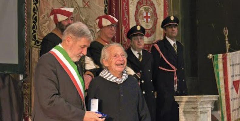 Giorno della Memoria 2020: a Gilberto Salmoni conferita la Medaglia Città di Genova