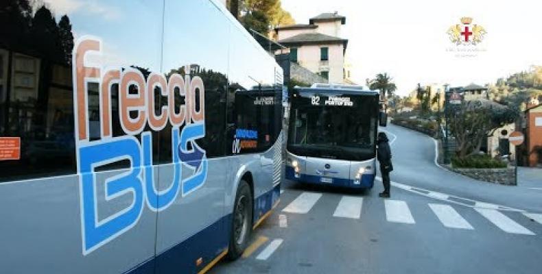 Sopralluogo con Heuliez Bus e IVECO BUS nel Borgo in vista di un possibile lancio del nuovo bus elettrico Atp.