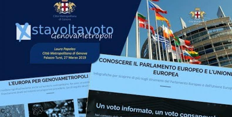 #stavoltavoto GenovaMetropoli presenta i risultati dell'iniziativa