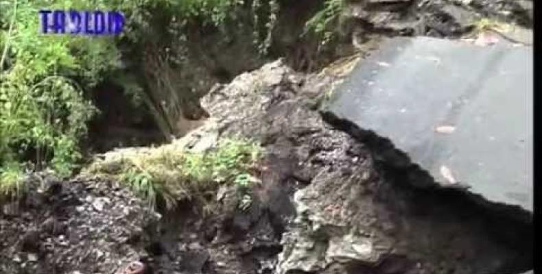 Alluvione in Val Fontanabuona