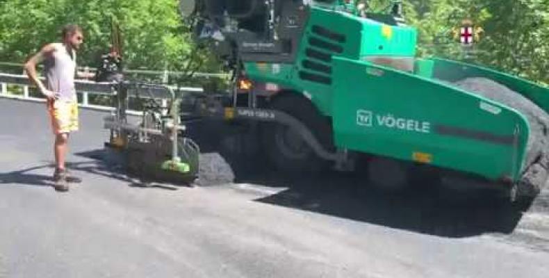 Vobbia: grazie al Bando Periferie partite le asfaltature