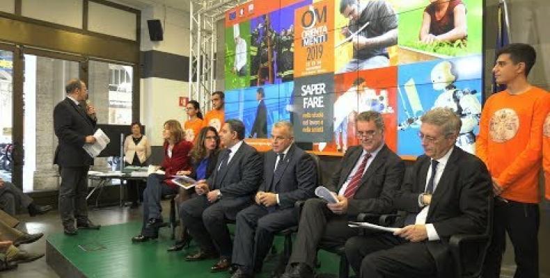 Presentato Orientamenti 2019: tre giorni di eventi dedicati alle opportunità formative
