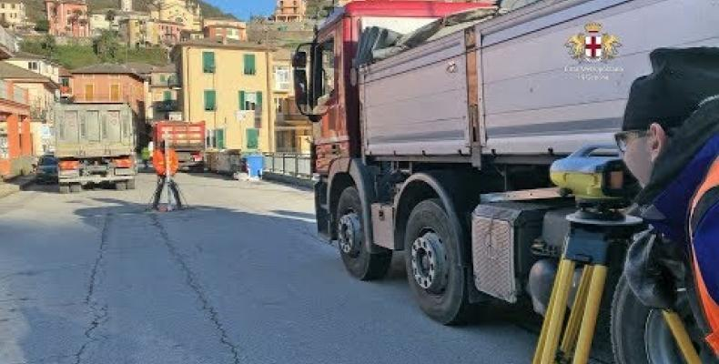 Proseguono le prove di carico sui ponti delle strade provinciali