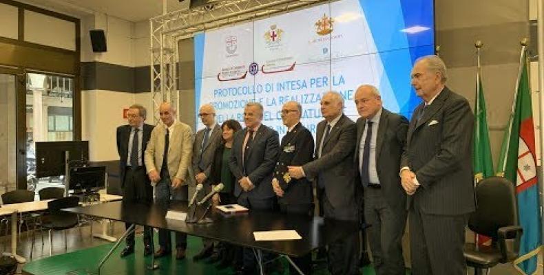 GNL: siglato il protocollo d'intesa tra le istituzioni