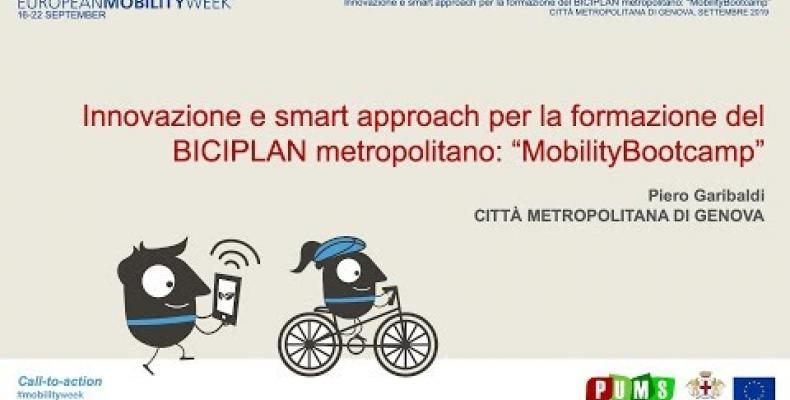 Innovazione e smart approach per la formazione del BICIPLAN metropolitano video