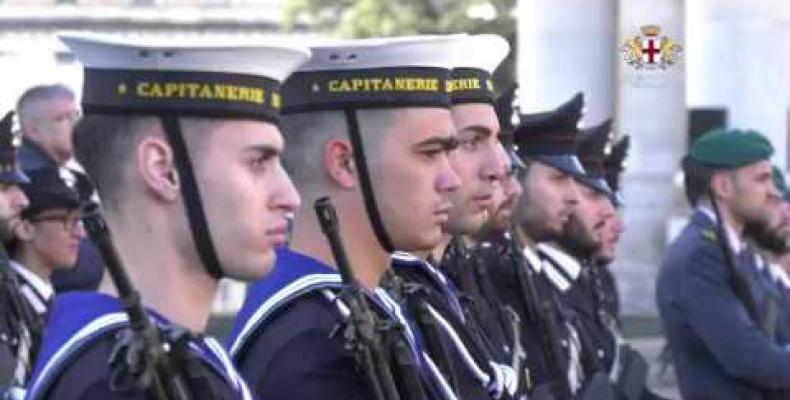 4 Novembre in Piazza della Vittoria: la giornata dell'Unità Nazionale e delle Forze Armate