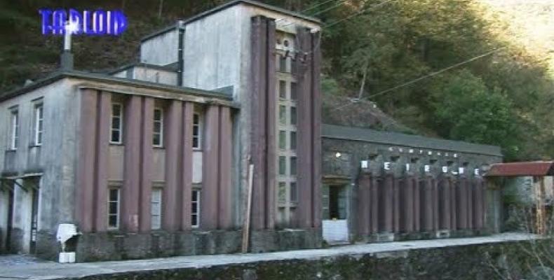 La centrale idroelettrica di Neirone