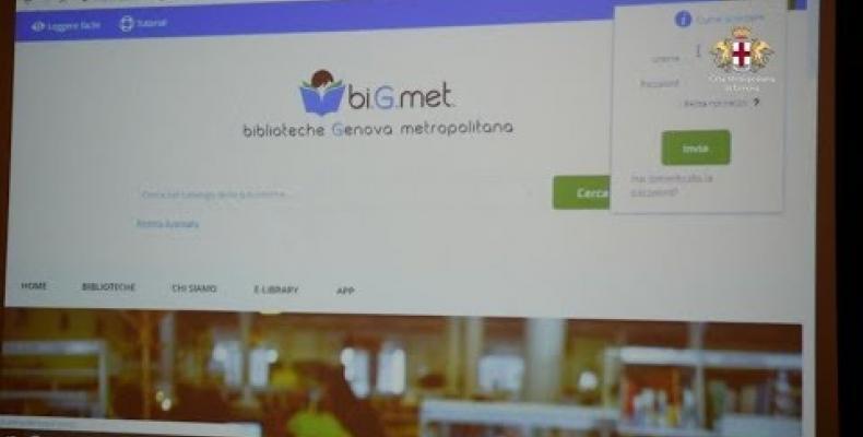 bi.G.met. nuovo sistema bibliotecario metropolitano integrato