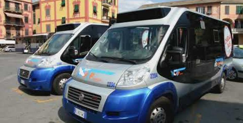 Il servizio GOA Airport shuttle per i Comuni del Tigullio