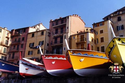 Camogli, barche