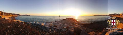 Lavagna, La spiaggia ed il mare