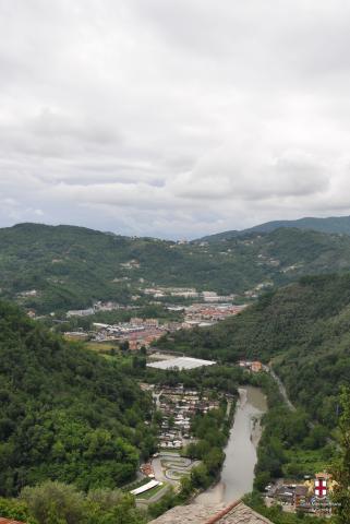 Carasco, panorama della vallata