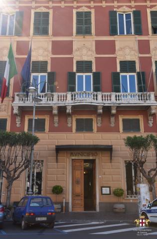 Lavagna, ingresso Municipio