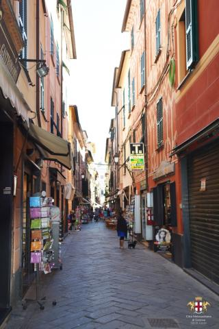 Lavagna, Via Roma