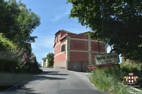 Lavagna, frazione di Santa Giulia