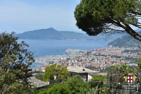 Lavagna, frazione di Santa Giulia, panorama di Lavagna