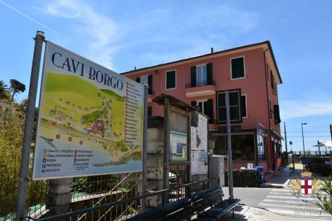 Lavagna, frazione Cavi Borgo cartello