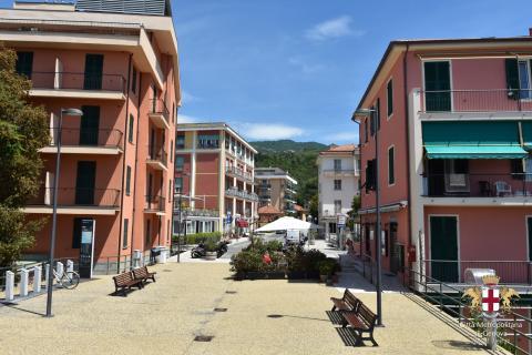 Lavagna, vista frazione Cavi Borgo