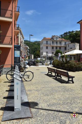 Lavagna, frazione Cavi Borgo e biciclette