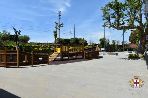 Lavagna, frazione Cavi Borgo, parco giochi