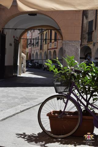Lavagna, la bicicletta, un mezzo di trasporto molto utilizzato dai Lavagnesi