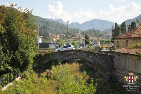 Busalla, ponte di via O. Grottin