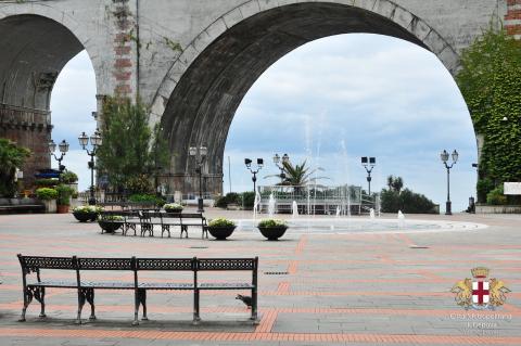 Zoagli, la fontana