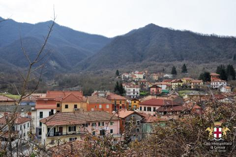Montoggio, vista