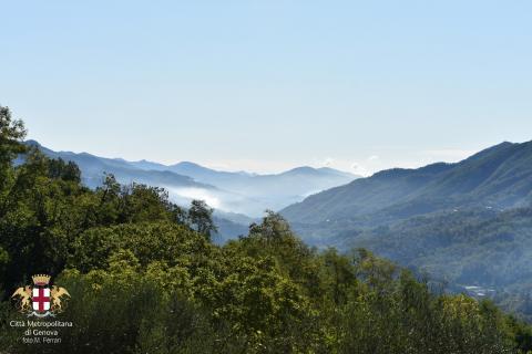 Neirone, panorama su Valfontanabuona