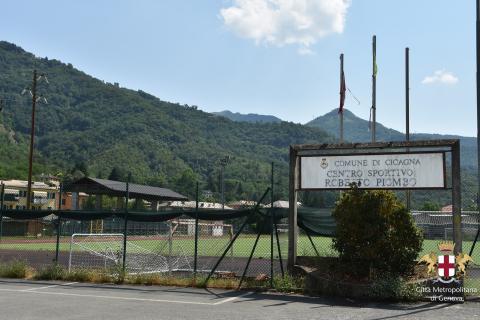 Cicagna, campo sportivo R. Piombo