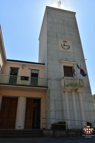 Cicagna, sede del municipio