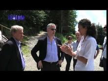 Visita del sindaco Doria ai Comuni della Val d'Aveto