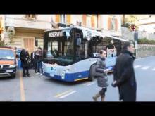 Sopralluogo con il consigliere delegato ai trasporti di Città metropolitana e i sindaci di Portofino, Rapallo e Santa Margherita