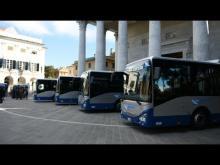 Presentazione a Chiavari della nuova linea di autobus ATP