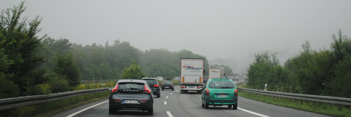 Immagine decorativa traffico stradale