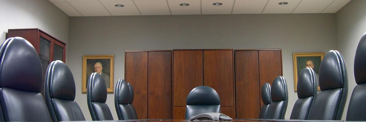 Immagine decorativa inerente alla notizia, sala riunioni