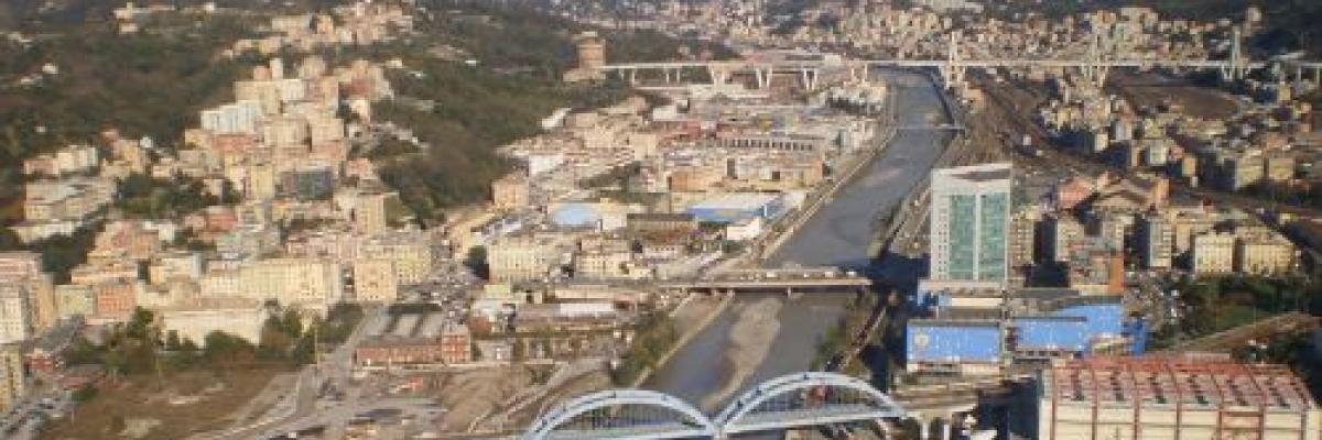 Il torrente Polcevera